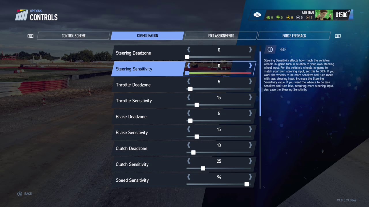 project cars 2 controller settings xbox one youtube. Black Bedroom Furniture Sets. Home Design Ideas