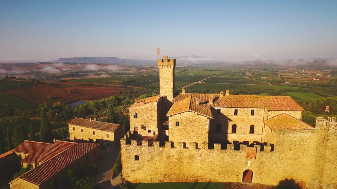 Castello Banfi Winery in Montalcino, Tuscany, Italy | Banfi