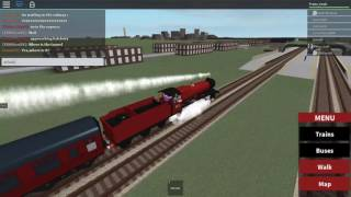 Train Crashes in ROBLOX Part 2: The Hogwarts Express