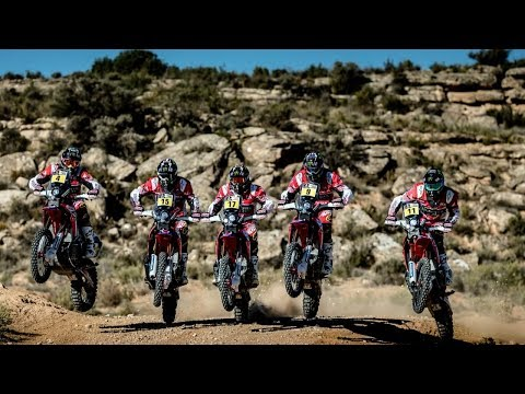 new Honda CRF Rally studio & details photo compilation