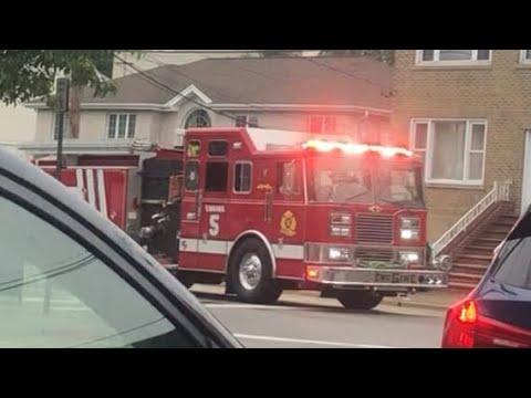 Chicago Fire Department Ladder 4 Engine 8 Responding June 12th 2019 Youtube