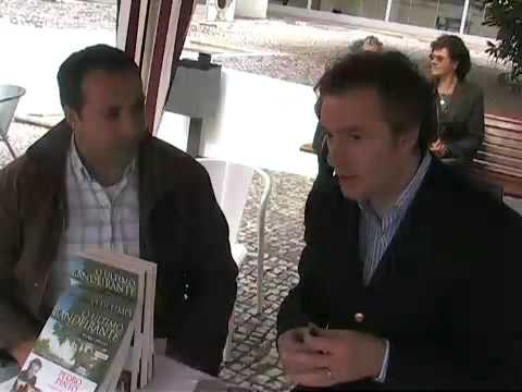 """Pedro Pinto apresenta """"O Último Bandeirante"""", na Lousã (parte 1)"""