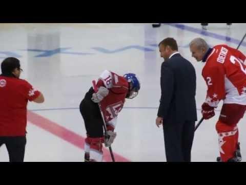 Сборная мира 2004 - легенды хоккея
