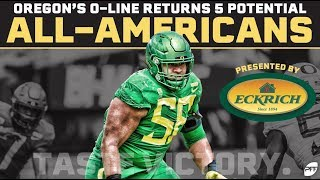 Oregon's Offensive Line returns 5 potential All-Americans   PFF