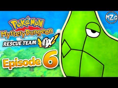 Pokemon Mystery Dungeon Rescue Team DX Gameplay Walkthrough Part 6 - Saving Metapod! Sinister Woods!