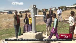 CCTV : Chinese Firm Helps Primary School in Ethiopia Address Water Shortages