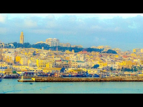 A Walk Around Tangiers, Morocco