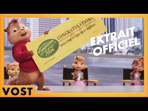 Alvin et les Chipmunks : À fond la caisse - Extrait Tu vas à Hollywood [Officiel] VOST HD