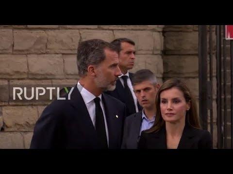 Spain: Royals attend memorial service for attack victims at Barcelona's Sagrada Familia