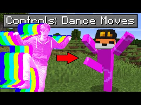 So I made Dance Moves control Minecraft…