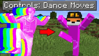 So I made Dance Moves control Minecraft...