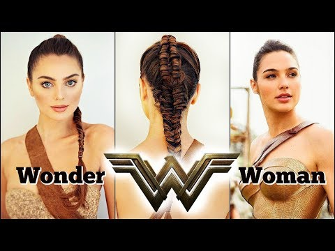 WONDER WOMAN Movie (2017) Makeup & Braid Tutorial | Gal Gadot
