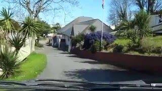 Driving InTo Waterside Caravan Holiday park in Paignton Torquay