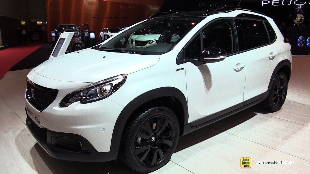 2017 peugeot 2008 gt line exterior and interior walkaround 2017 geneva motor show youtube. Black Bedroom Furniture Sets. Home Design Ideas