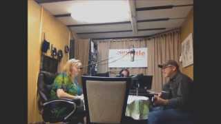Kevin P at Whistle Radio with Diva and Don   Under African Skies cover