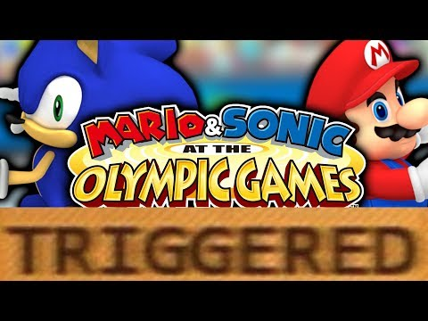 How Mario and Sonic at the Olympic Games TRIGGERS You!
