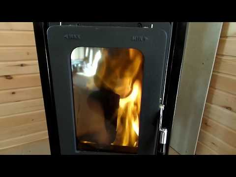 Отопительная печь MILANO-2 Thorma (Словакия), размеры печи и регулировки горения.