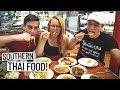 Thai Street Food Tour with MARK WIENS! + Hostel Tour (Bangkok, Thailand)