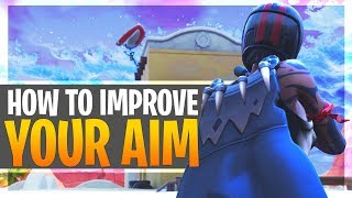 How to get Better at Fortnite | Improve Aim with Aiming Drills