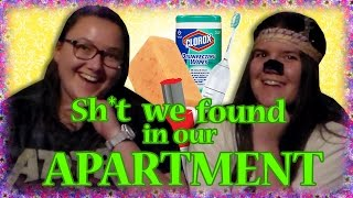 SH*T WE FOUND IN OUR APARTMENT!! Omg it's so much....