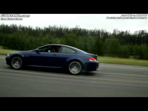 Audi RS5 Vs BMW M6 50-250 Km/h