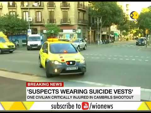 Barcelona Terror attack: Spanish police kill five terror suspects wearing suicide vests