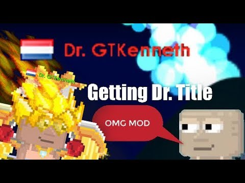 Growtopia - Getting Dr. Title (RED NAME)