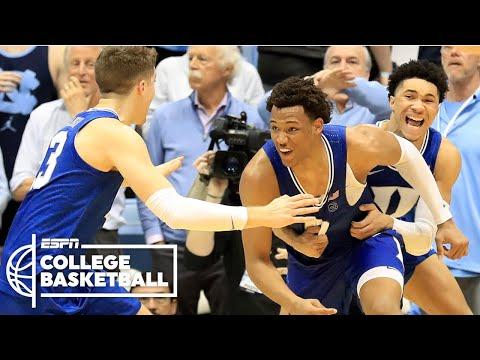 Duke Rallies In Regulation And OT To Stun North Carolina At Buzzer | College Baskerball On ESPN