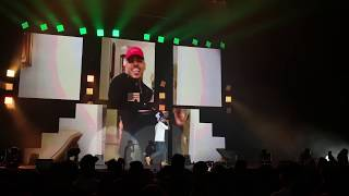 Chris Brown performing 'Freaky Friday' live for the first time (Bad Bunny: La Nueva Religion Tour)