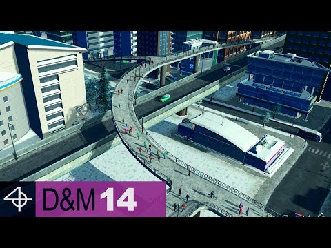 Effective Pedestrian Pathway Network | Unmodded Cities: Skylines – Design and Manage, Part 14