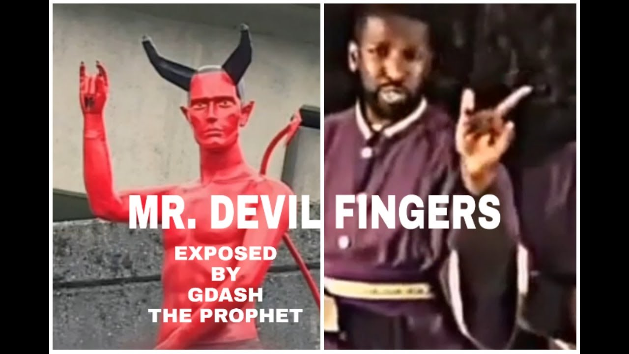MR. DEVIL FINGERS BY GDASH THE PROPHET