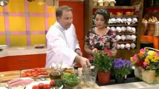 Время обедать!  Ведущий кулинарный шоумен Олег Сотников и певец Дмитрий Маликов