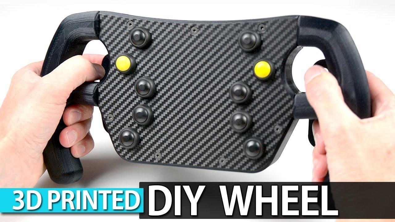 3d Printed F1 Steering Wheel