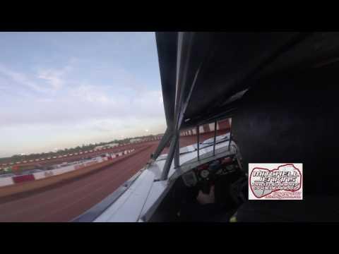 Wee Wee Reed In-Car Rome Speedway 5/28/17!