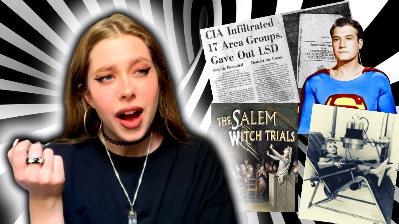 Download Conspiracies that F*ck me up: Government Brainwashing, Salem Witch Trials and more