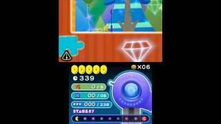 PAC-MAN & Galaga DIMENSIONS - N3DS - Pac-Man Tilt Gameplay