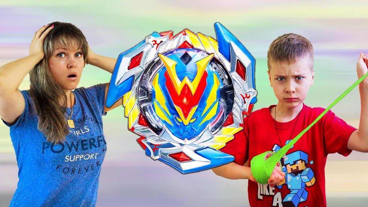 РАСПАКОВАЛИ и не можем ПОДЕЛИТЬ BEYBLADE Winning Valkyrie !!! Кому достанется игрушка для детей ?