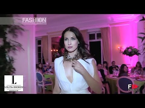 LOLITA SHONIDI Haute Couture 2014 Moscow - Fashion Channel