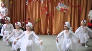 танец для девочек на 9 Мая