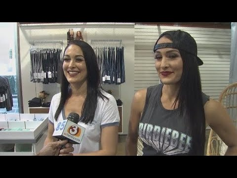 RAW VIDEO: Full interview with Bella Twins at Phoenix pop-up shop