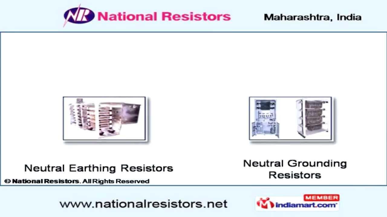 hight resolution of neutral grounding resistor by national resistors pune youtube zig zag generator wiring diagram neutral grounding