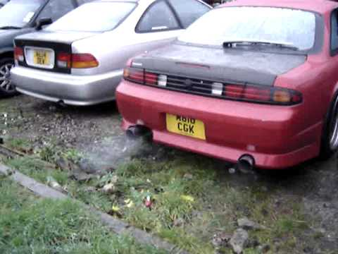 Procharged LS2 S14 new dual exhaust