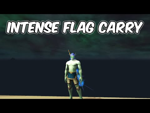 Intense Flag Carrying - Blood Death Knight PvP - WoW BFA 8.2.5