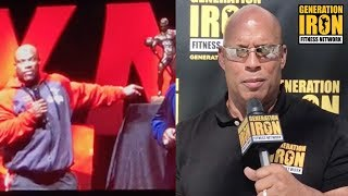 Olympia 2017 Press Conference Wrap Up With Shawn Ray   Generation Iron