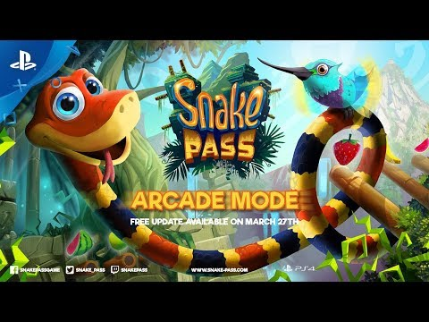 Snake Pass – Arcade Mode Update | PS4