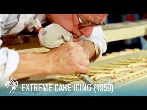 Extreme Cake Icing!! (1959) | British Pathé