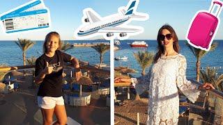 ВЛОГ Дорога на отдых Аэропорт самолет заселение в отель обзор номера