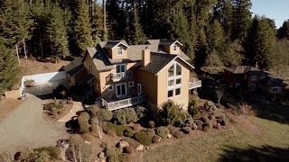 redwood coast vacation rentals elegant chateau aerial video