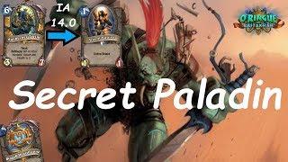 Hearthstone: Secret Paladin #5: Rastakhan's Rumble - Standard Constructed Post-Nerf