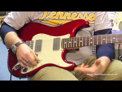 Fender Blacktop HH Stratocaster demo - Damon Chivers @ PMT